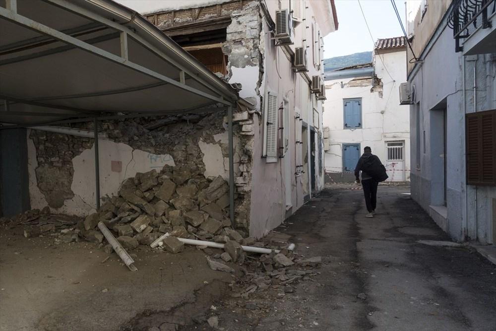 Depremin vurduğu Yunan adası Sisam'da son durum - 26
