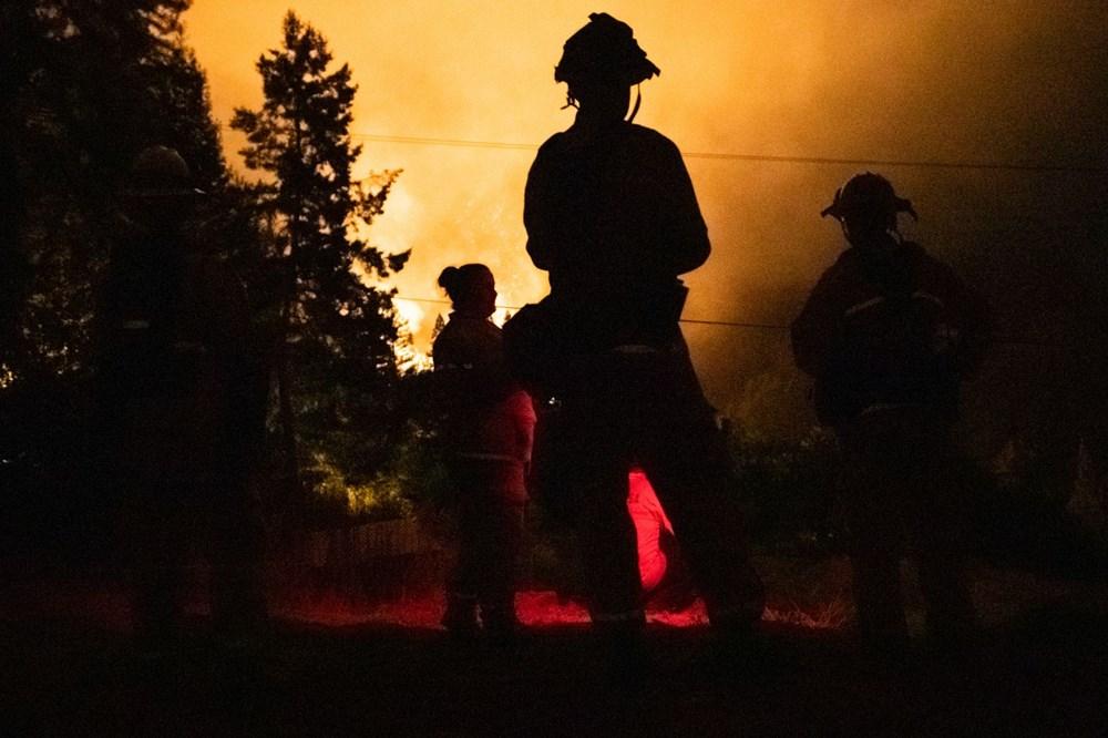 California'da 8 bin kilometrekare alan yandı, rekor kırıldı - 18
