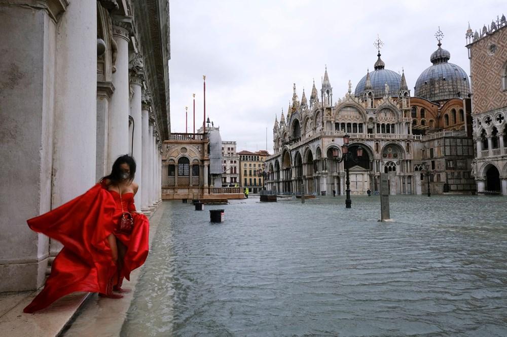 Venedik'te yine su baskını: Milyar dolarlık proje işe yaramadı - 18