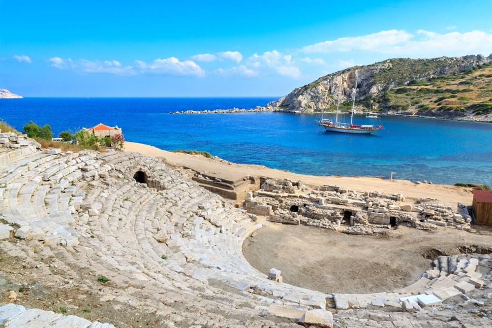 Ege ve Akdeniz'in birleştiği yer: Knidos - 6