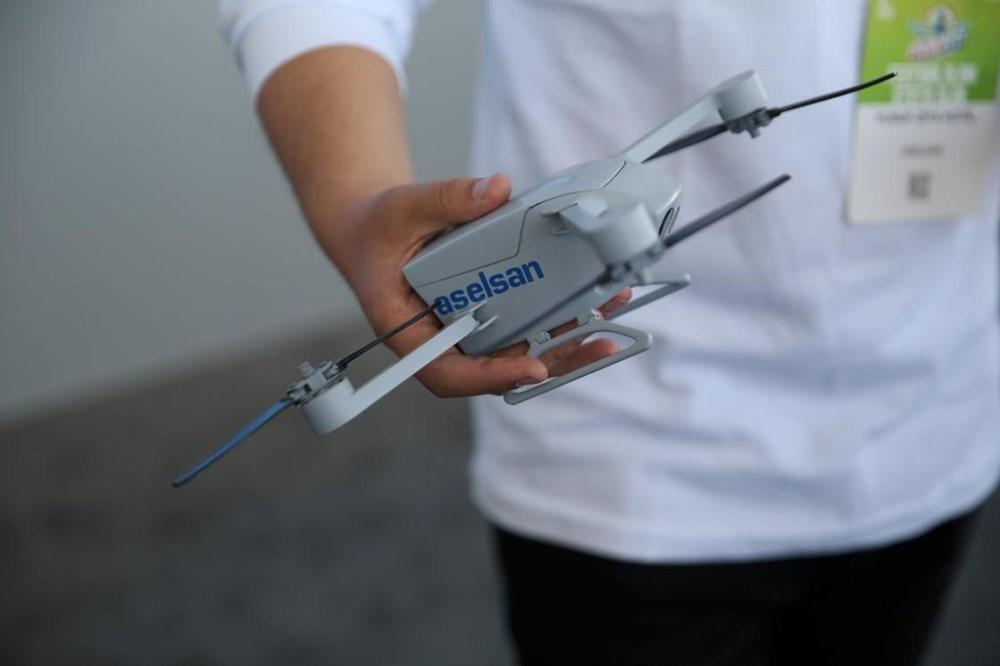 Dijital birliğin robot askeri Barkan göreve hazırlanıyor (Türkiye'nin yeni nesil yerli silahları) - 110