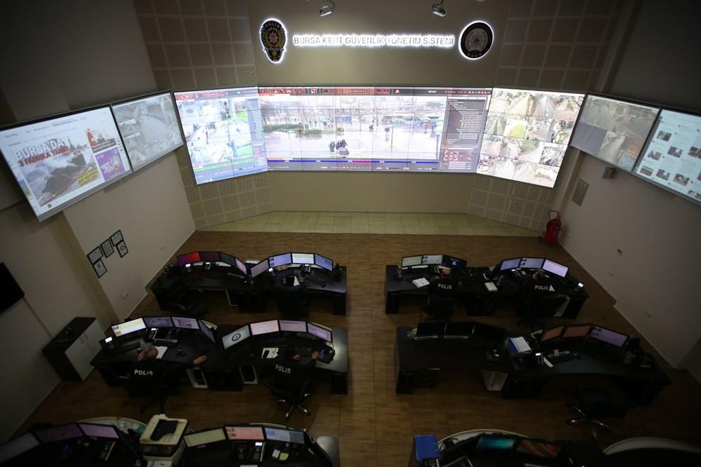 Bursa'da maske takmayanlar kameradan tespit edilip uyarılıyor - 2