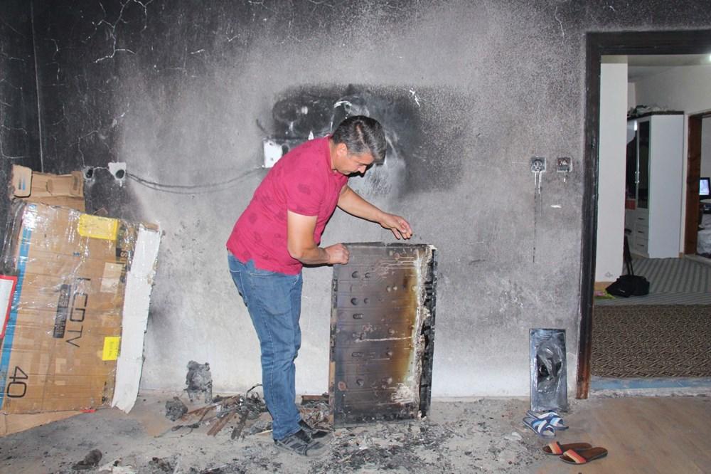 8 yıl önce yanan odayı dava bitmediği için külleriyle kilitli tutuyorlar - 7