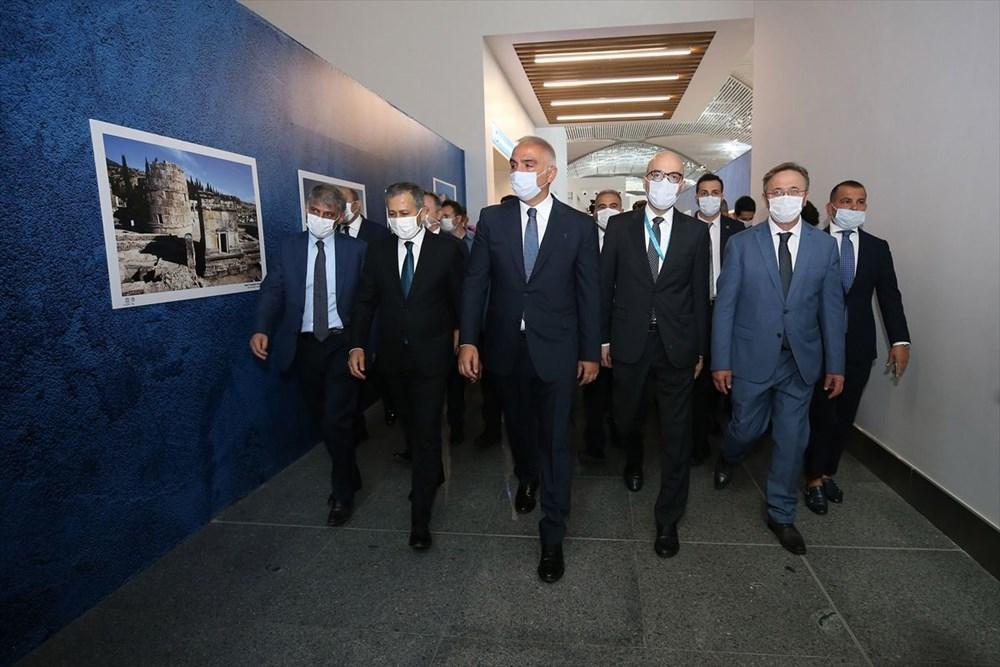 İstanbul Havalimanı Müzesi 'Türkiye'nin Hazineleri-Tahtın Yüzleri' sergisiyle açıldı - 4