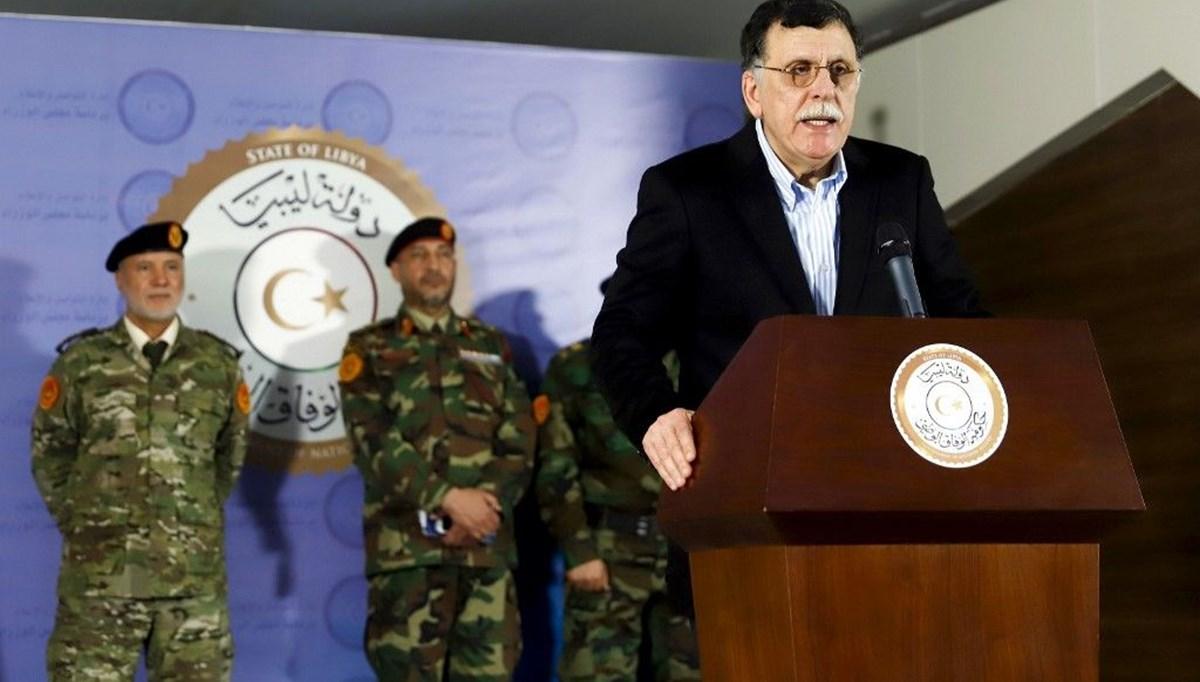 SON DAKİKA HABERİ: Libya Başbakanı Serrac istifa kararından vazgeçti