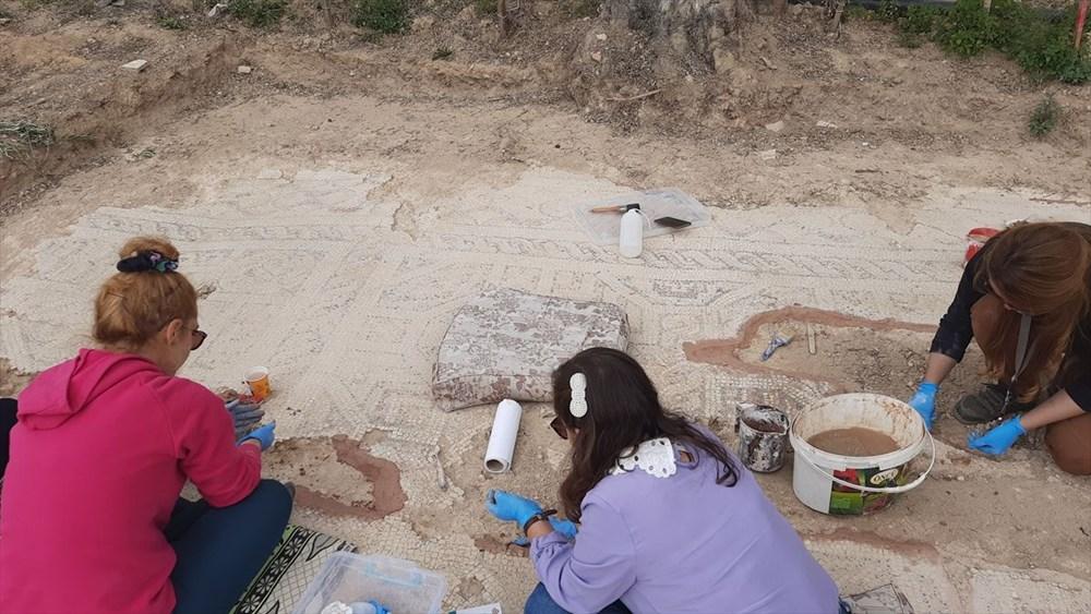 İznik'te Hisardere kazılarında iki lahit bulundu: Mumyalanmış 3 iskelet - 6