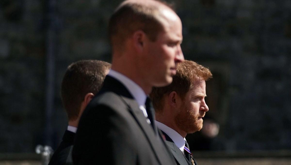 Prens Harry ve Prens William'ın cenazede tartıştığı ortaya çıktı
