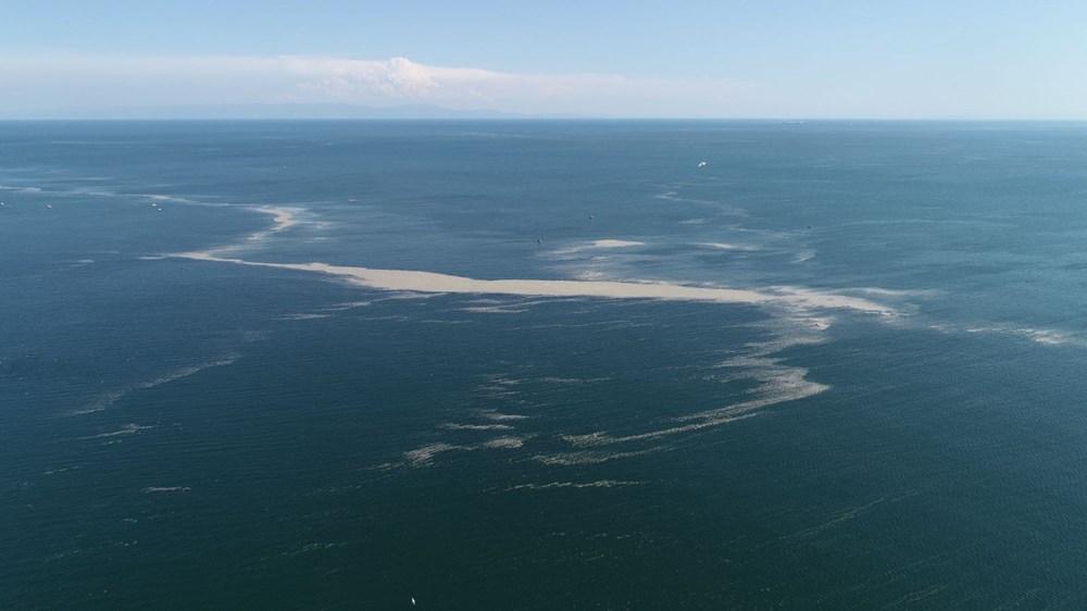 Küçükçekmece açıklarında 'müsilaj' adası - 6