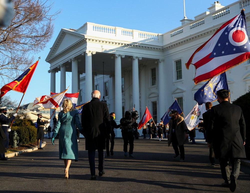 Joe Biden'ın yemin töreninden kareler (ABD'nin 46. Başkan Joe Biden göreve başladı) - 31