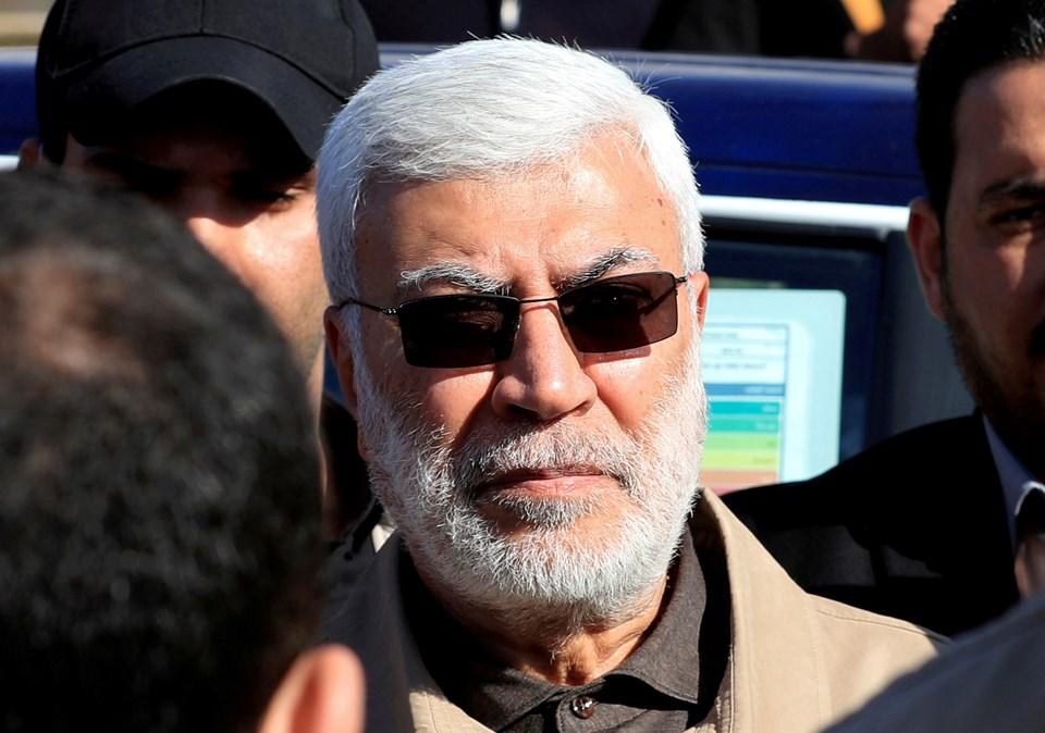 Haşdi Şabi örgütünün Başkan Yardımcısı Ebu Mehdi el-Mühendis.