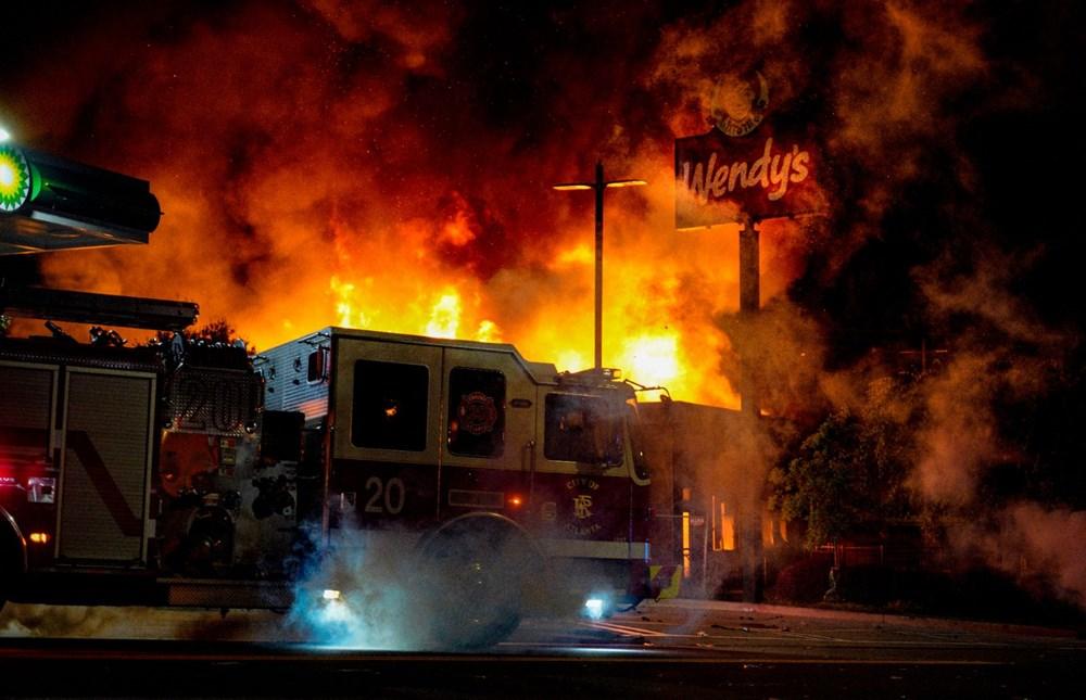 ABD'de yine polis şiddeti (Atlanta kenti karıştı) - 1
