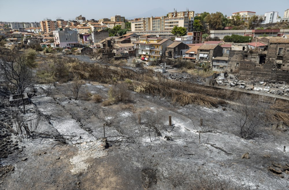 Akdeniz alev aldı: Yunanistan ve İtalya'da orman yangınları sürüyor - 12