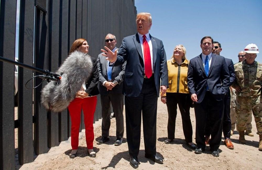 Trump, Meksika duvarını corona bütçesiyle finanse ediyor - 3