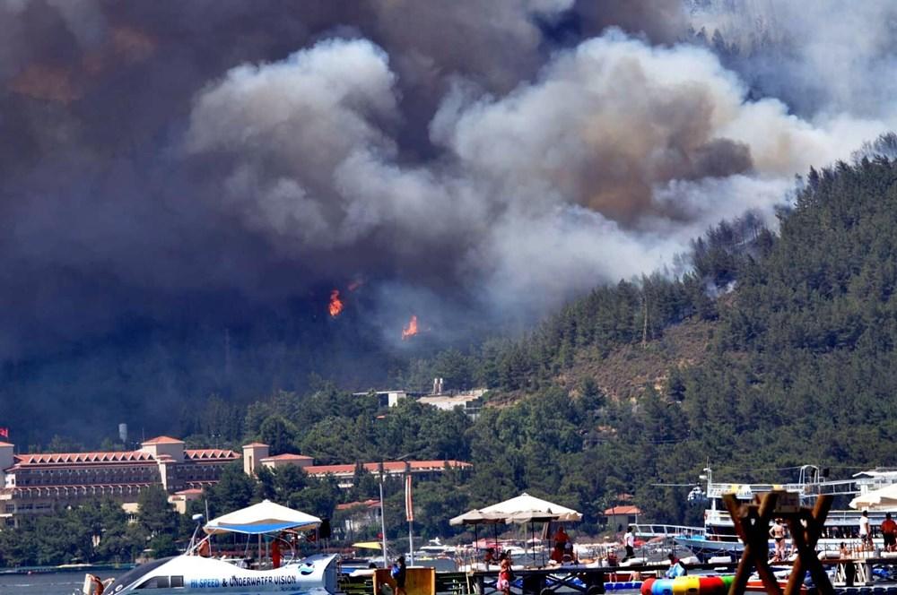 Marmaris'teki orman yangınından acı haber - 12