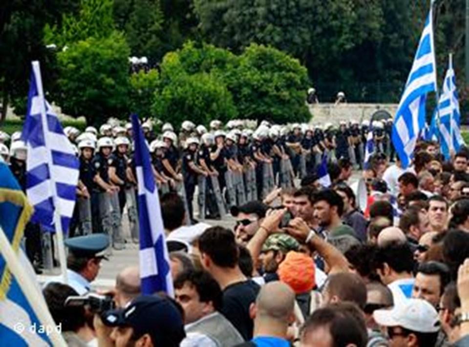 Yunanistan'da Haziran ayında da grev yapılmıştı.