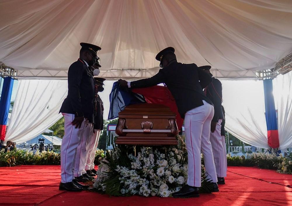 Suikasta uğrayan Haiti Devlet Başkanı'na cenaze töreni düzenlendi - 12