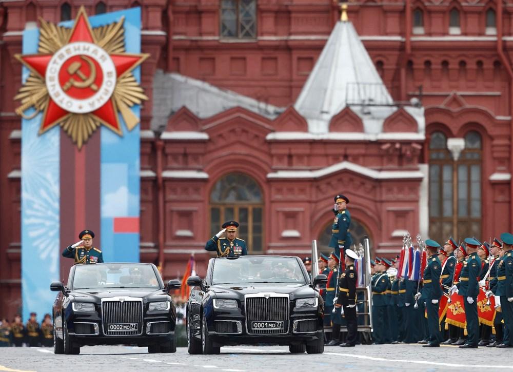 Rusya'da Zafer Günü kutlamaları: Moskova'da askeri geçit töreni - 17