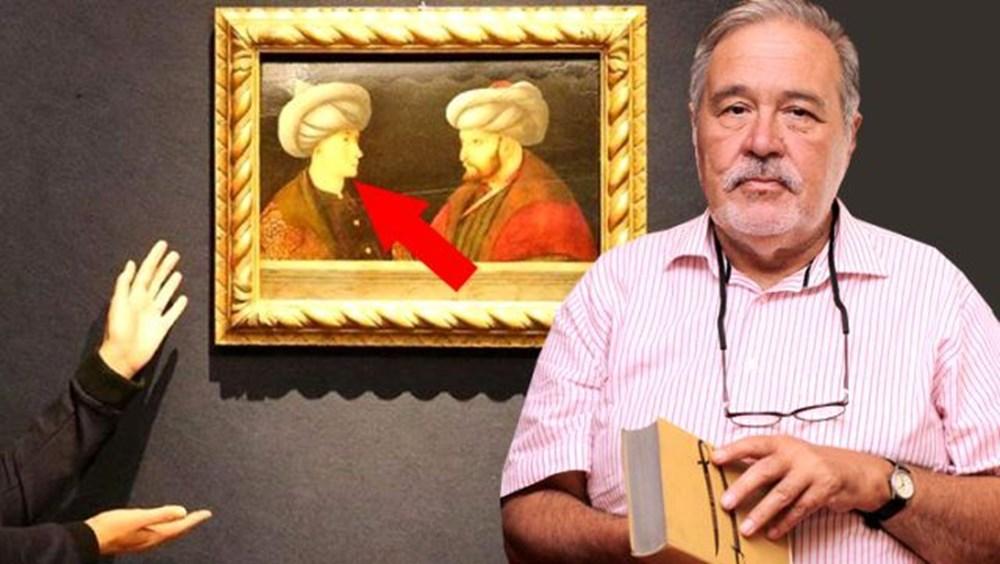 İlber Ortaylı portrede Fatih Sultan Mehmet'in karşısındaki kişinin kim olduğunu açıkladı - 6