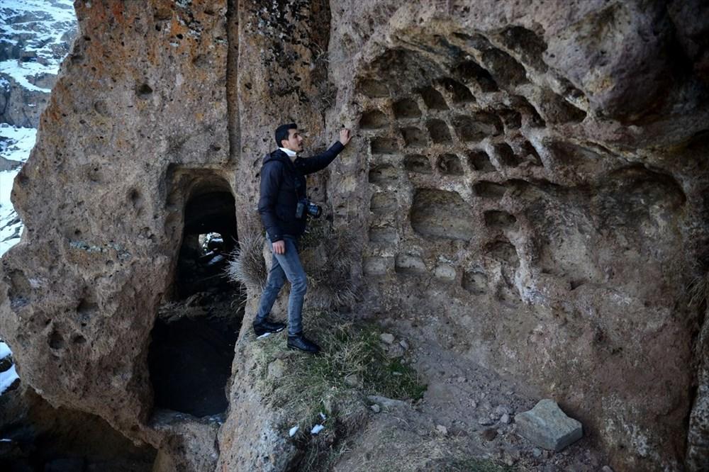 Bitlis'te binlerce yıllık 400 mağara evin bulunduğu 'Madavans Vadisi' turizme kazandırılıyor - 8