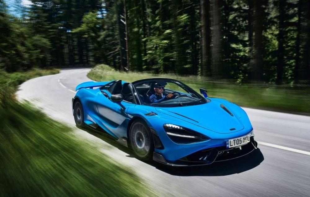 McLaren tarihinin en hızlı üstü açık modeli tanıtıldı:  765LT Spider - 1