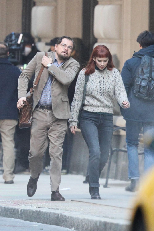 Jennifer Lawrence, Don't Look Up setinde kaza geçirdi - 4
