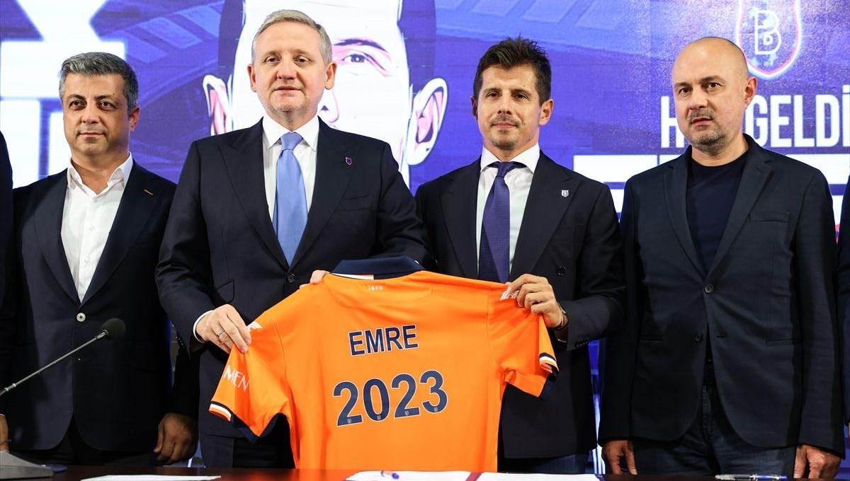 Medipol Başakşehir'de yeni teknik direktör Emre Belözoğlu oldu
