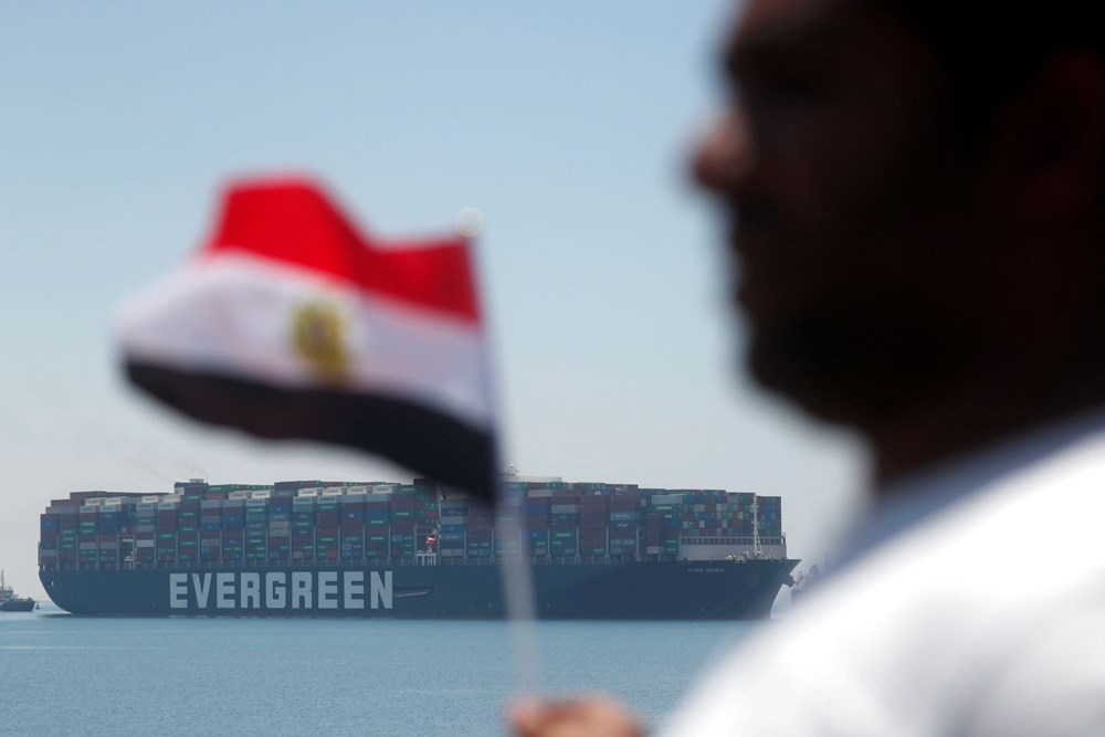 """blocking the Suez Canal """"The Ever Given"""" Headed to the Netherlands - 8"""
