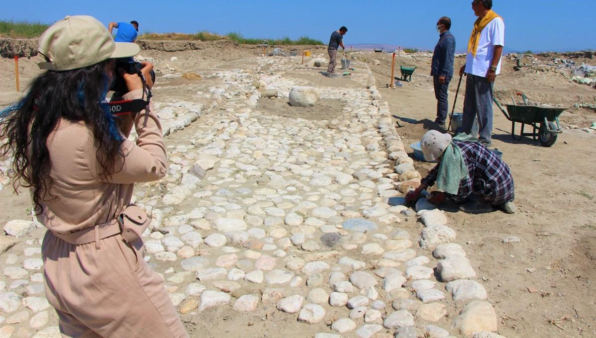 Oluz Höyük'ün 2 bin 500 yıllık Pers Yolu