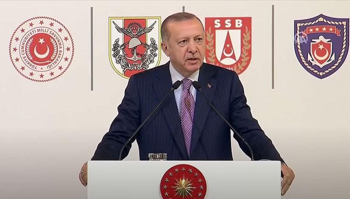 Cumhurbaşkanı Erdoğan:Türkiye, kendi savaş gemisini tasarlayıp üretebilen 10 ülkeden birisi