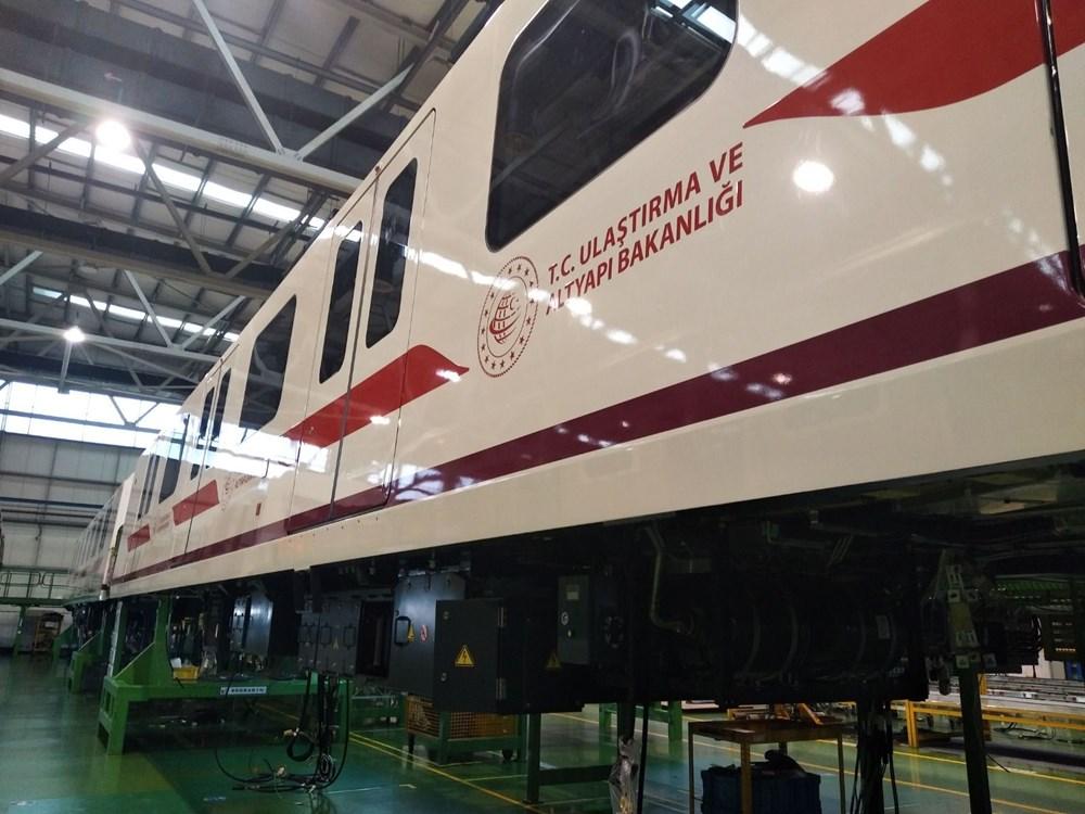 Gayrettepe-İstanbul Havalimanı Metrosu'nda ilk tren raylara indi - 3