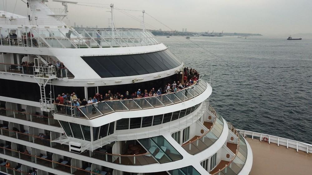 Galataport İstanbul'a ikinci yolcu gemisi demir attı - 17
