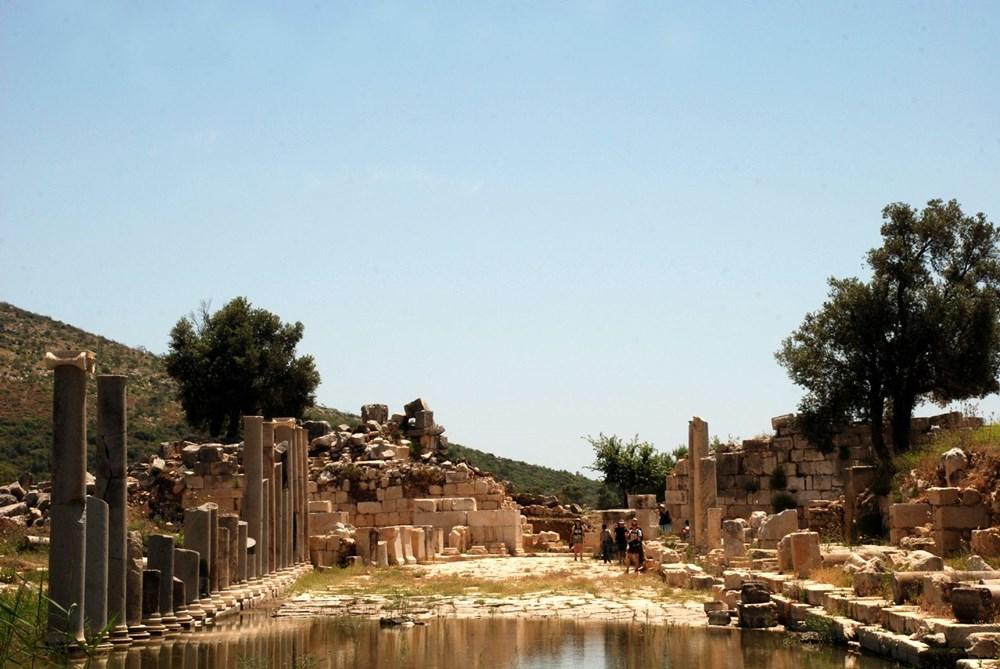 Patara Antik Kenti'ne çeyrek milyon ziyaretçi - 4