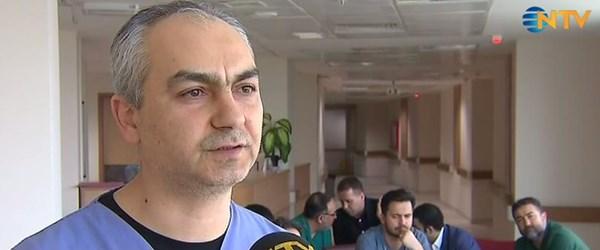 Türkiye'nin dört yanından gelen doktorlar NTV'ye konuştu (17 cerrah Afrin için nöbette)