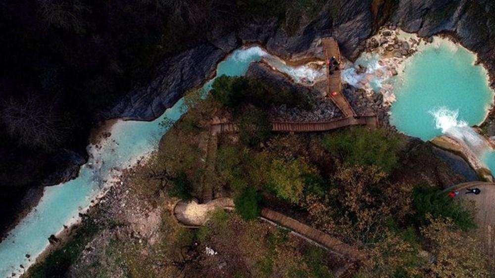 Giresun'un saklı cenneti Mavigöl, pandemide gezginlerin uğrak yeri oldu - 13