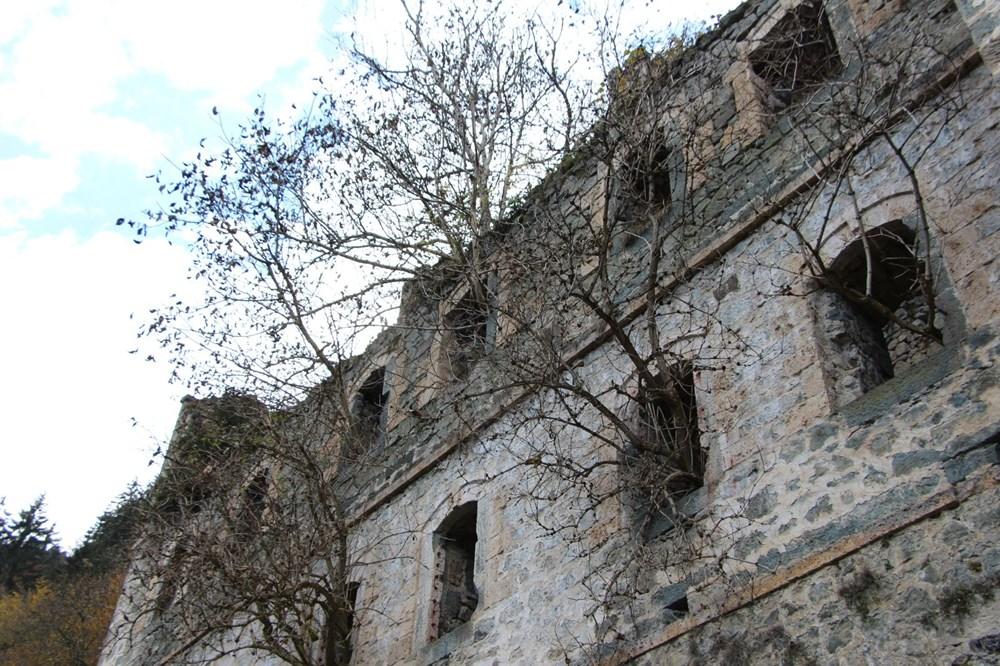 Vazelon Manastırı'nın restorasyonu başka bahara kaldı - 7