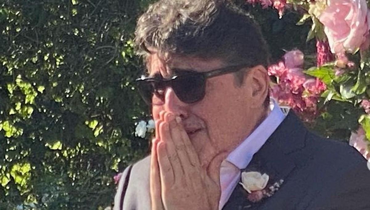 Alfred Molina sevgilisi Jennifer Lee evlenirken gözyaşlarını tutamadı