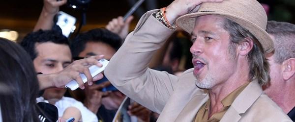 Brad Pitt'in Meksika stili (Galada tek başına)