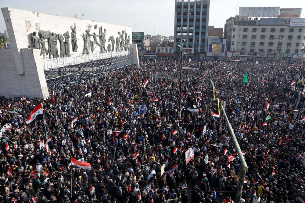 Irak Zikar'da gösterileri hedef alan saldırıda 3 protestocu öldü, 70 kişi yaralandı - 4