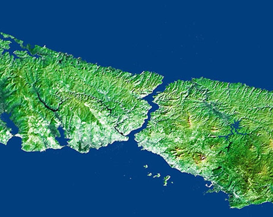 İstanbul Boğazı'nın uzunluğu 30 kilometreyi buluyor.