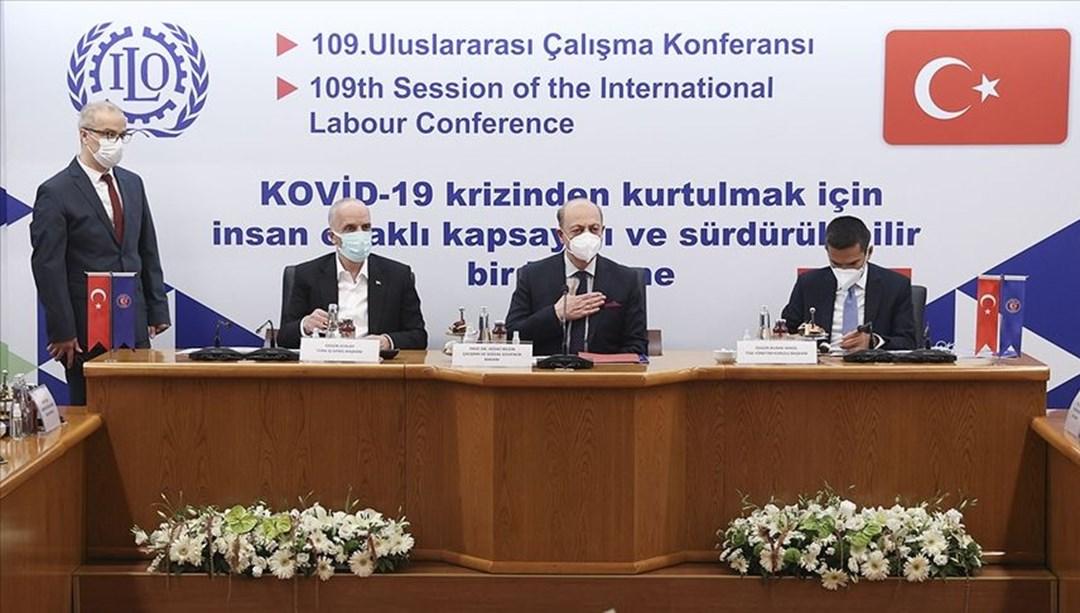 Bakan Bilgin, işçi ve işveren konfederasyonlarının temsilcileriyle bir araya geldi thumbnail