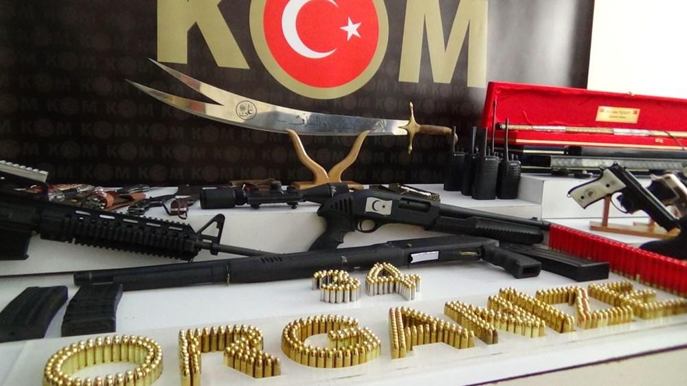 İşte Sedat Peker operasyonunda ele geçirilen silahlar - 4