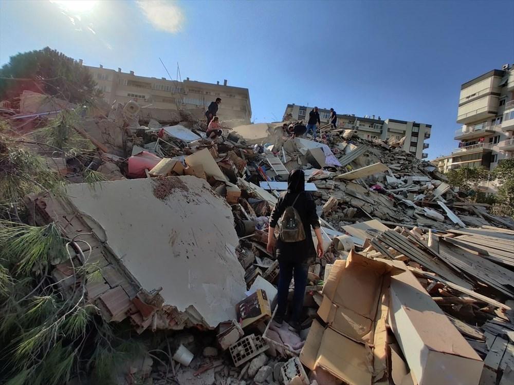 Son Deprem: İzmir'deki 6.6'lık depremden kareler - 11