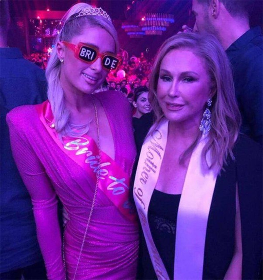 Paris Hilton düğün öncesi bir haftadır bekarlığa veda ediyor - 5