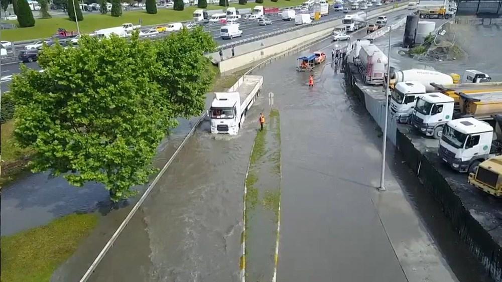 İstanbul'da şiddetli yağış ve dolu - 13