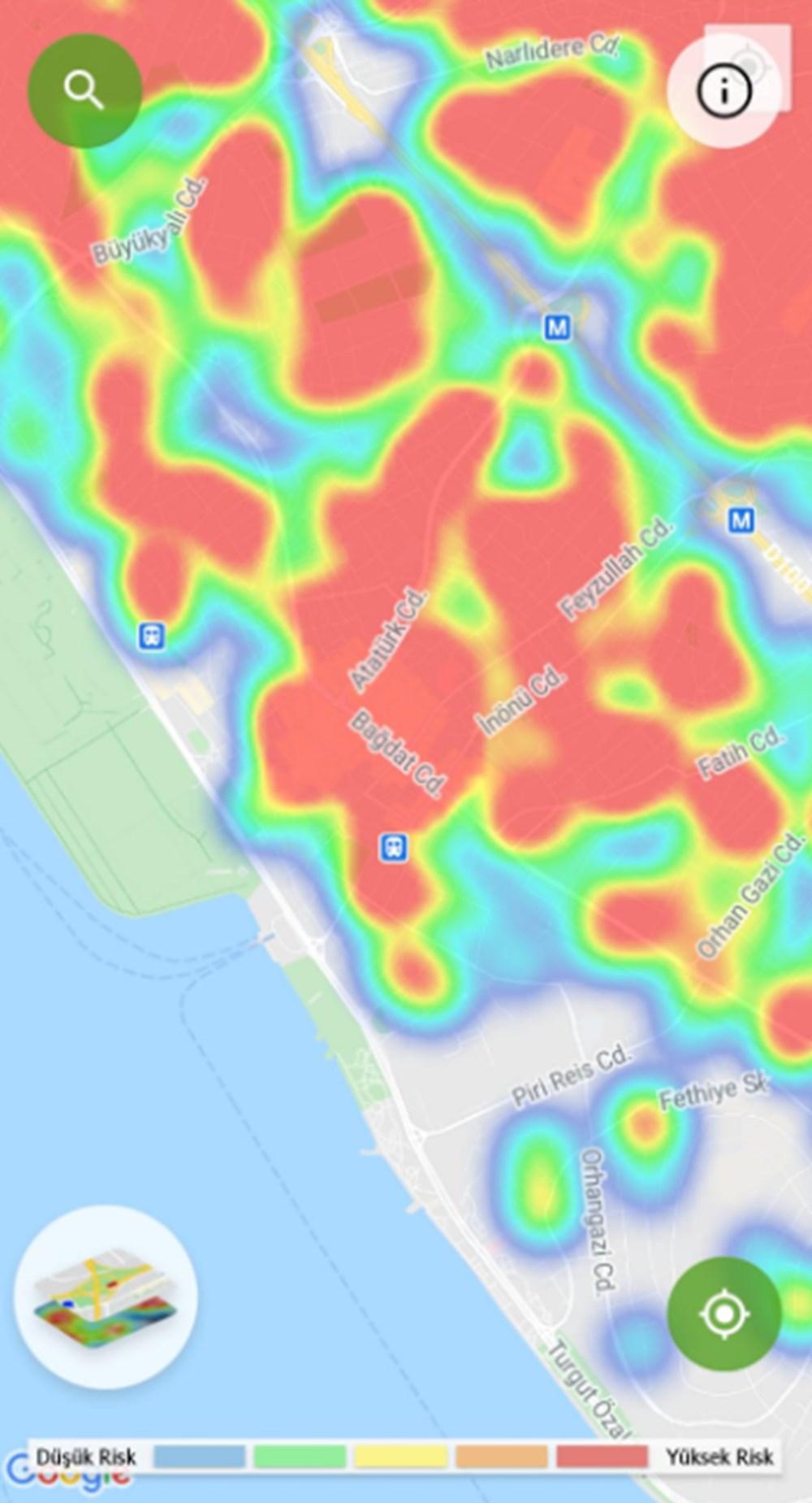 Corona haritası kızarıyor (İstanbul'un en güvenli ilçeleri) - 21