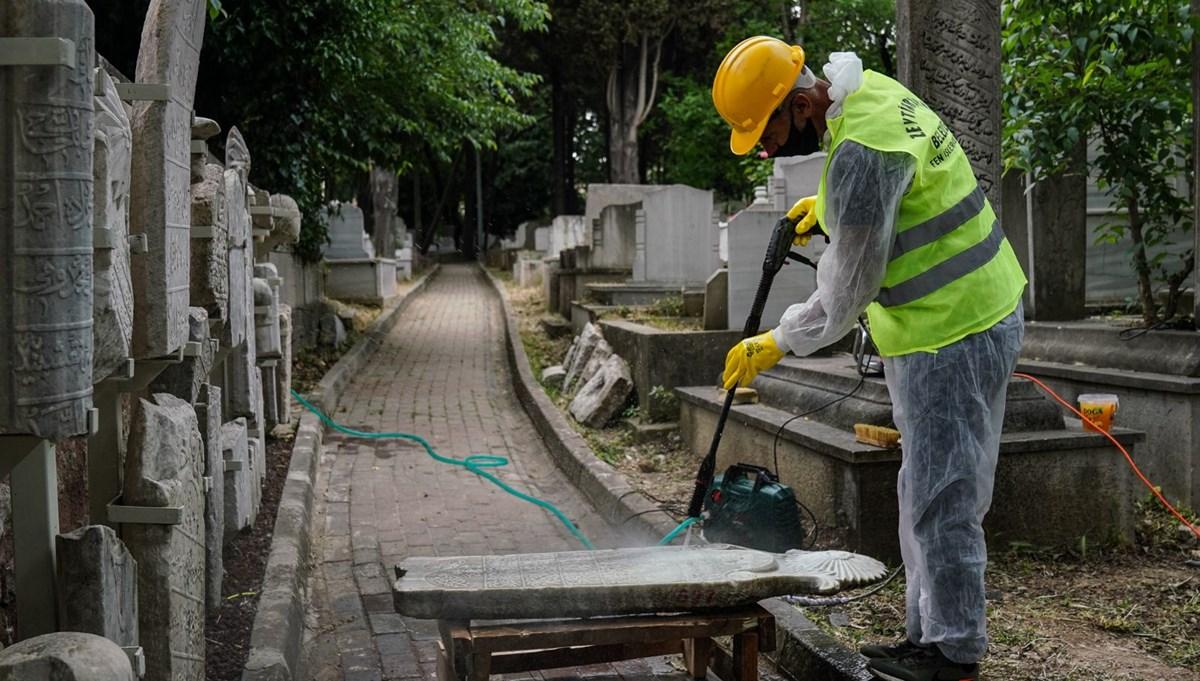 Tarihe ışık tutan asırlık mezar taşları gün yüzüne çıkıyor