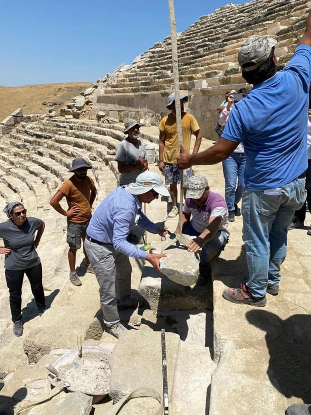 Laodikya Antik Kenti'ndeki 2 bin 200 yıllık antik tiyatronun restorasyonu tamamlandı - 2