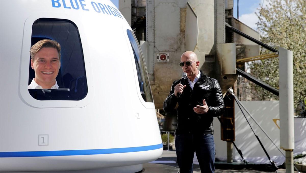 18 yaşında Jeff Bezos'la uzaya gidecek: Oliver Daemen kimdir?