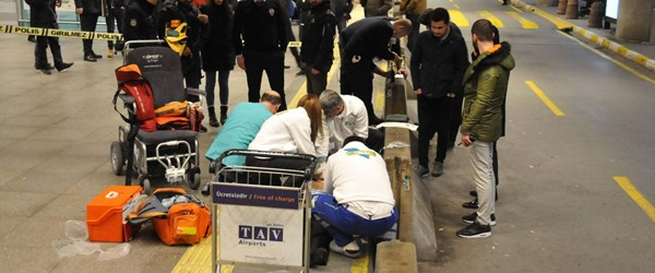 Atatürk Havalimanı'nda 20 dakikalık hayatta kalma mücadelesi