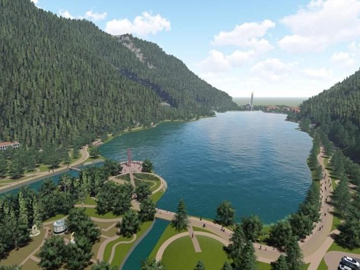 Dünyaca ünlü Uzungöl'e yeni çehre! Bu proje ile işte böyle değişecek